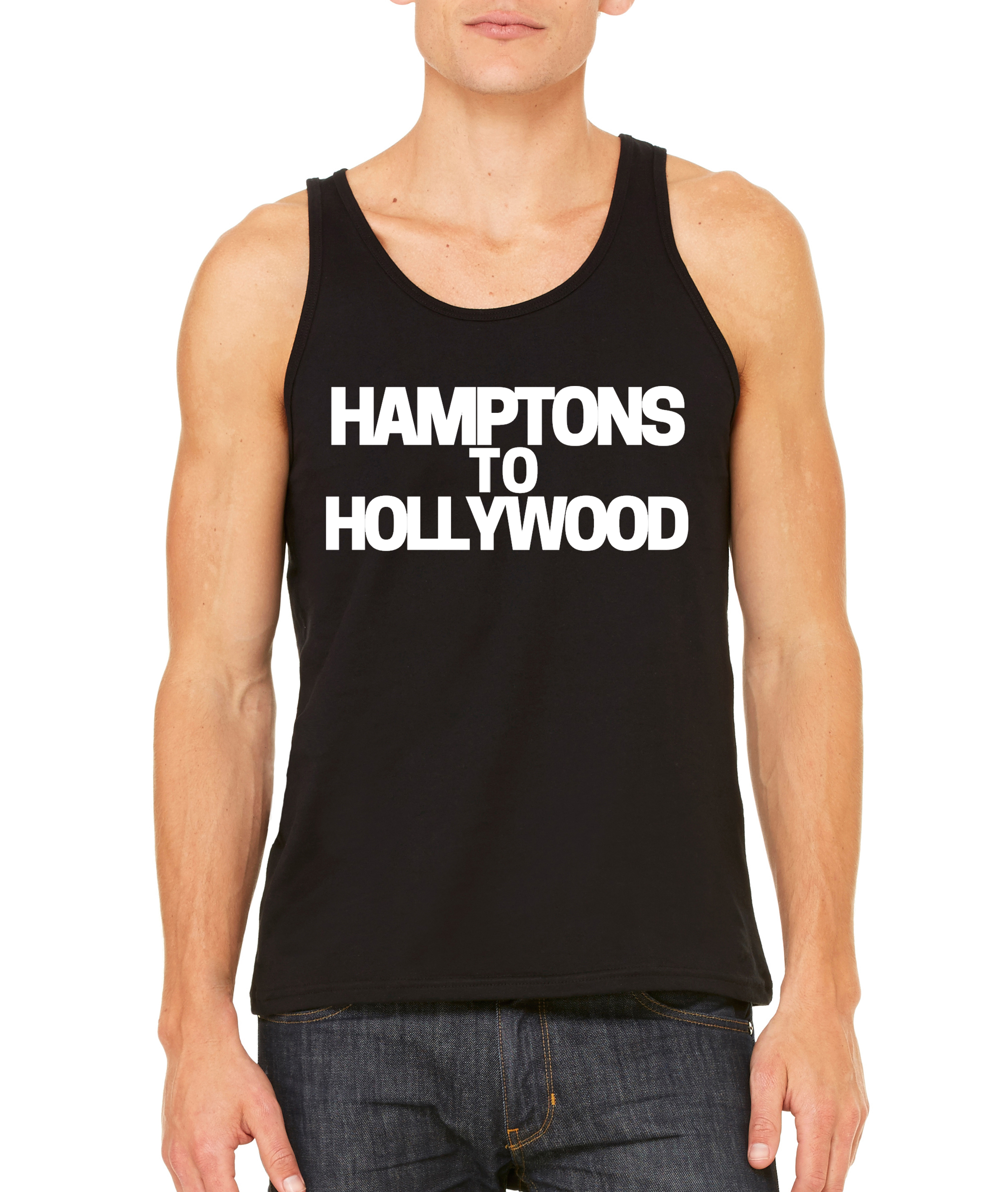 Hamptons to Hollywood Black Tank