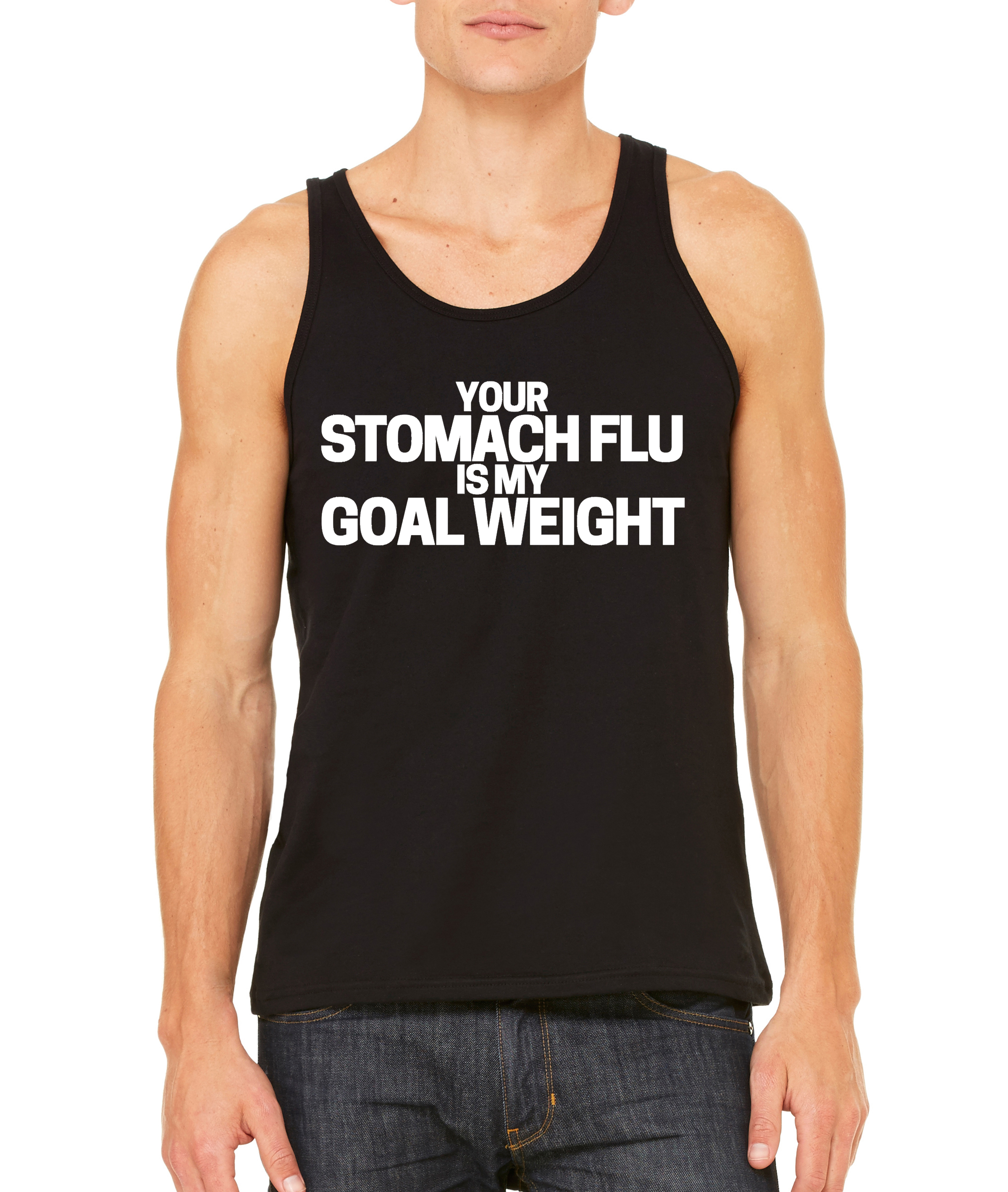 Stomach Flu Men's Tank