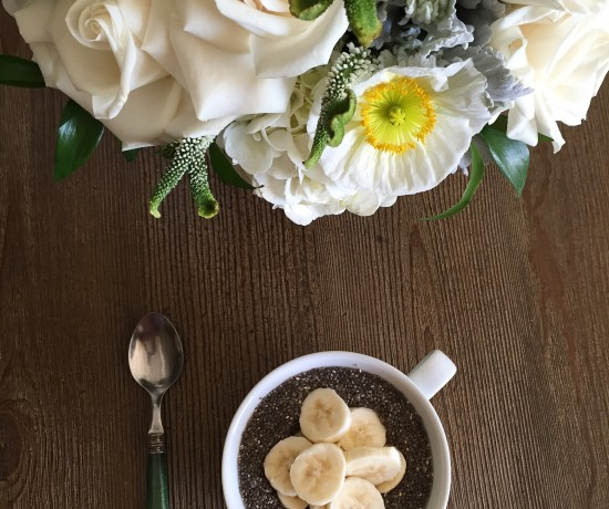 Hamptons to Hollywood - Chia Seed Pudding