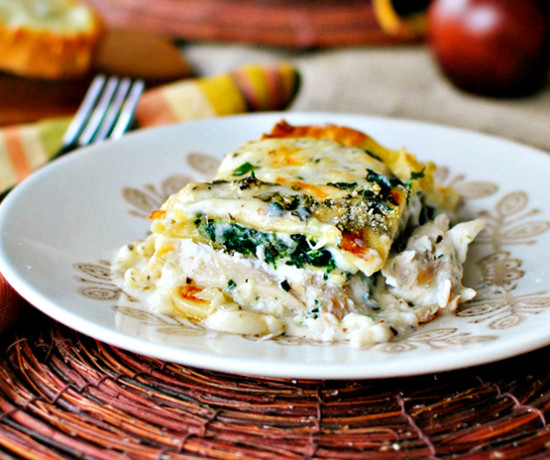 Hamptons to Hollywood - White Chicken Lasagna