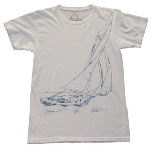 Hamptons to Hollywood x Live In Color | Sailboat Tee