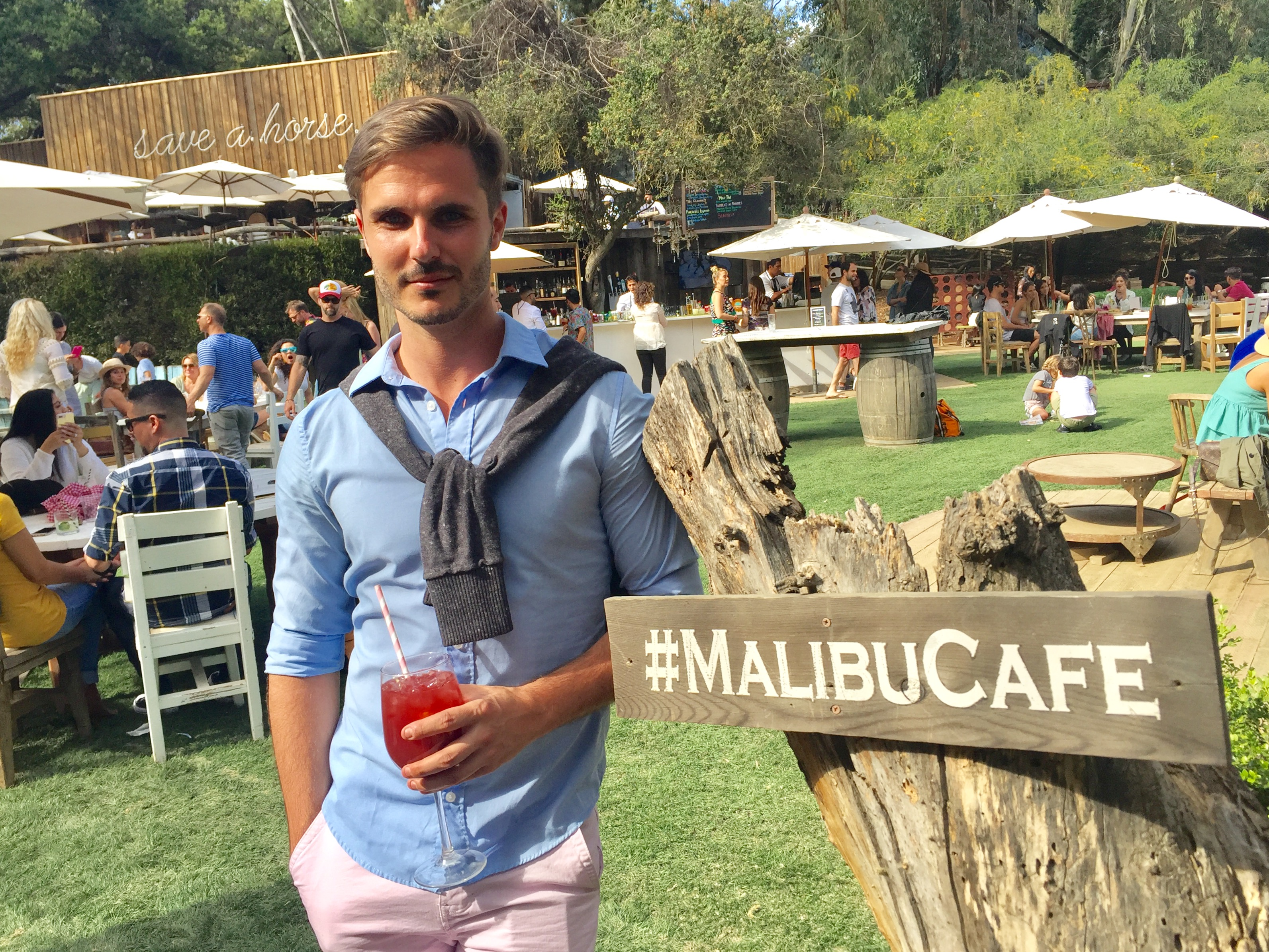 Hamptons To Hollywood At The Malibu Caf