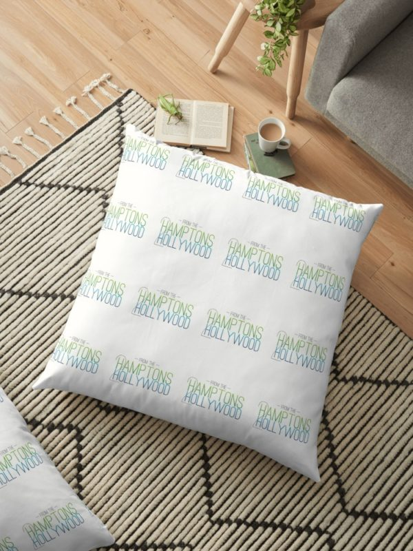 Hamptons to Hollywood Floor Pillow