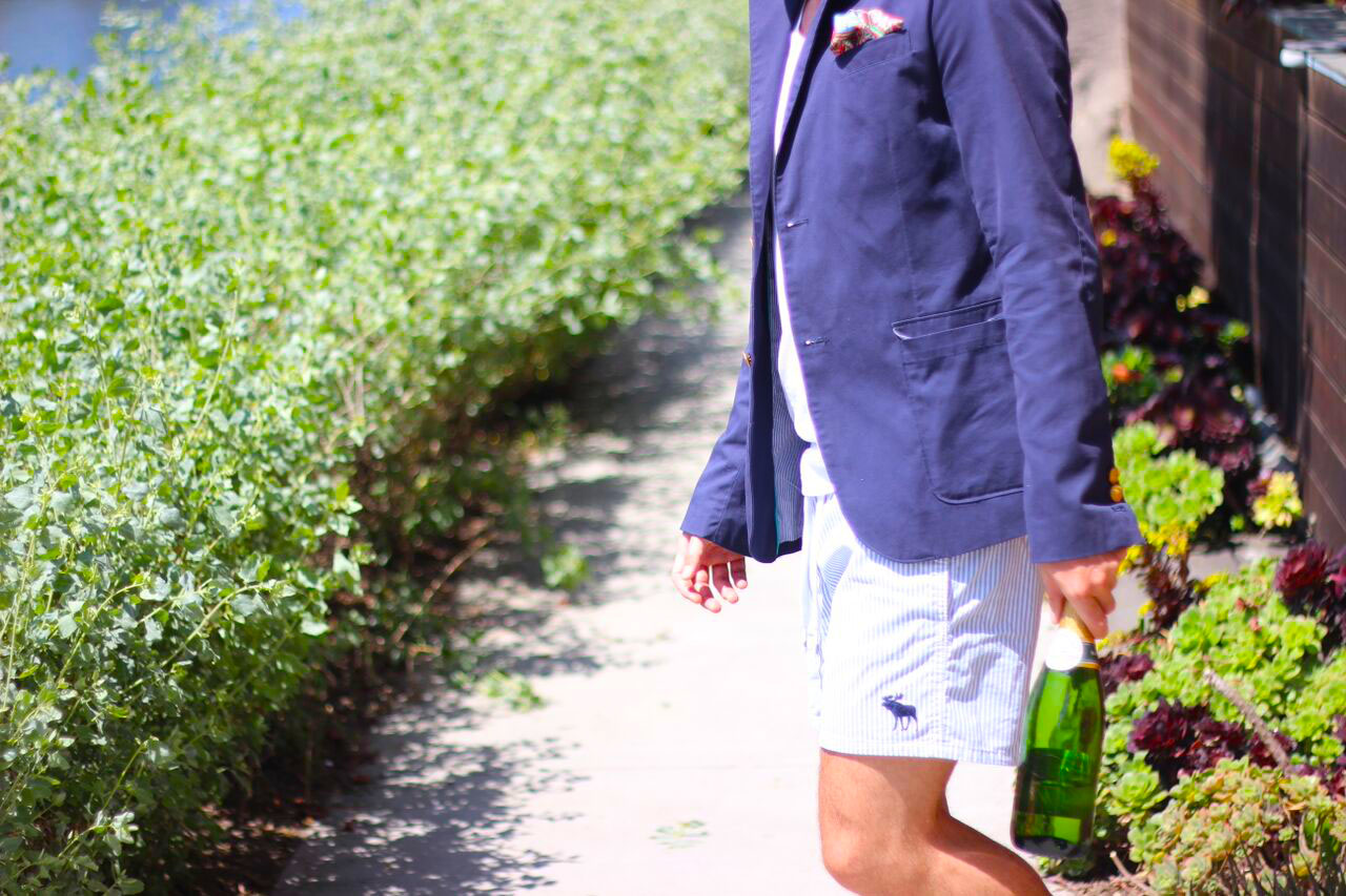 Kyle Langan - Hamptons to Hollywood - Nautical Champagne Menswear
