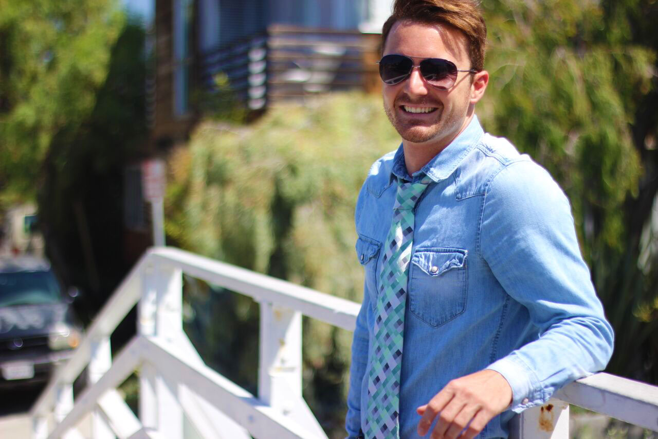 Kyle Langan - Hamptons to Hollywood - Mint Tie