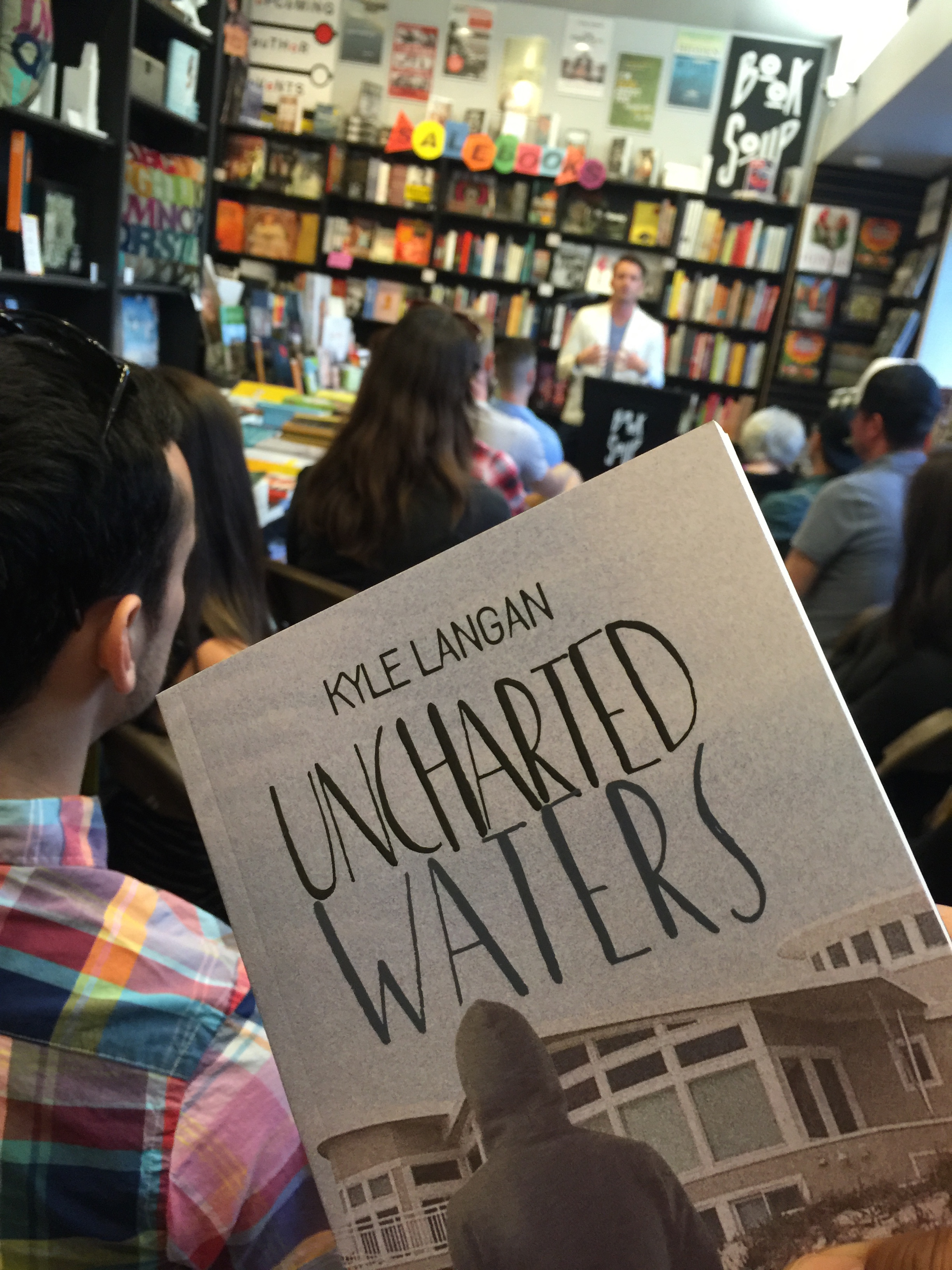 Uncharted Waters Book Signing