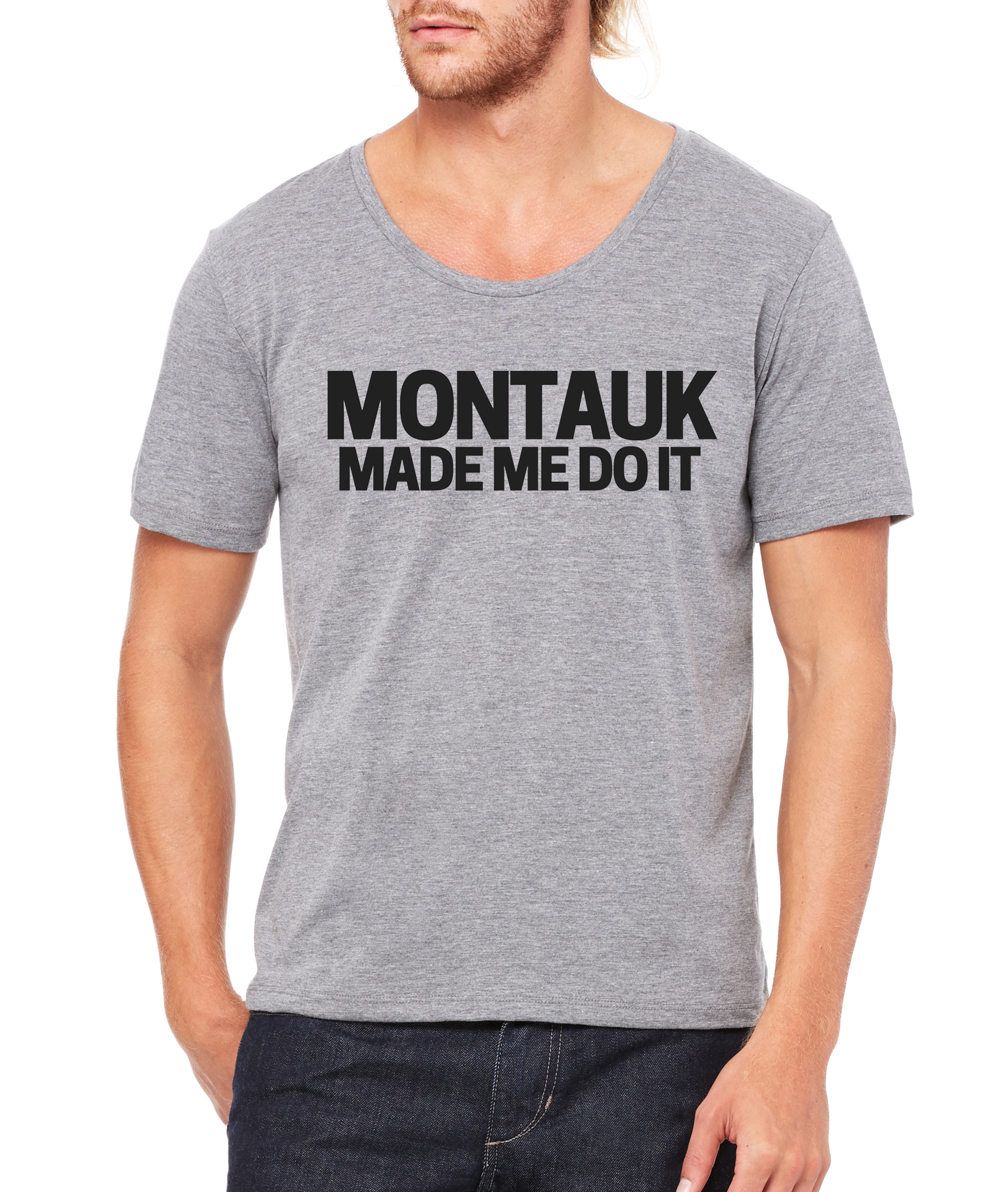 Montauk Made Me Do it Tee
