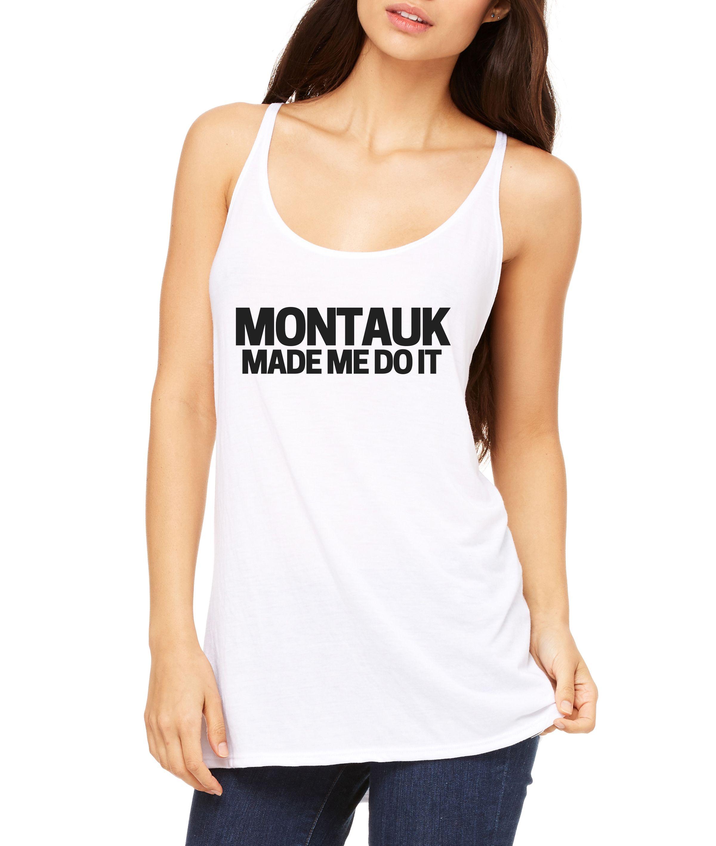 Montauk Women's Slouchy Tank