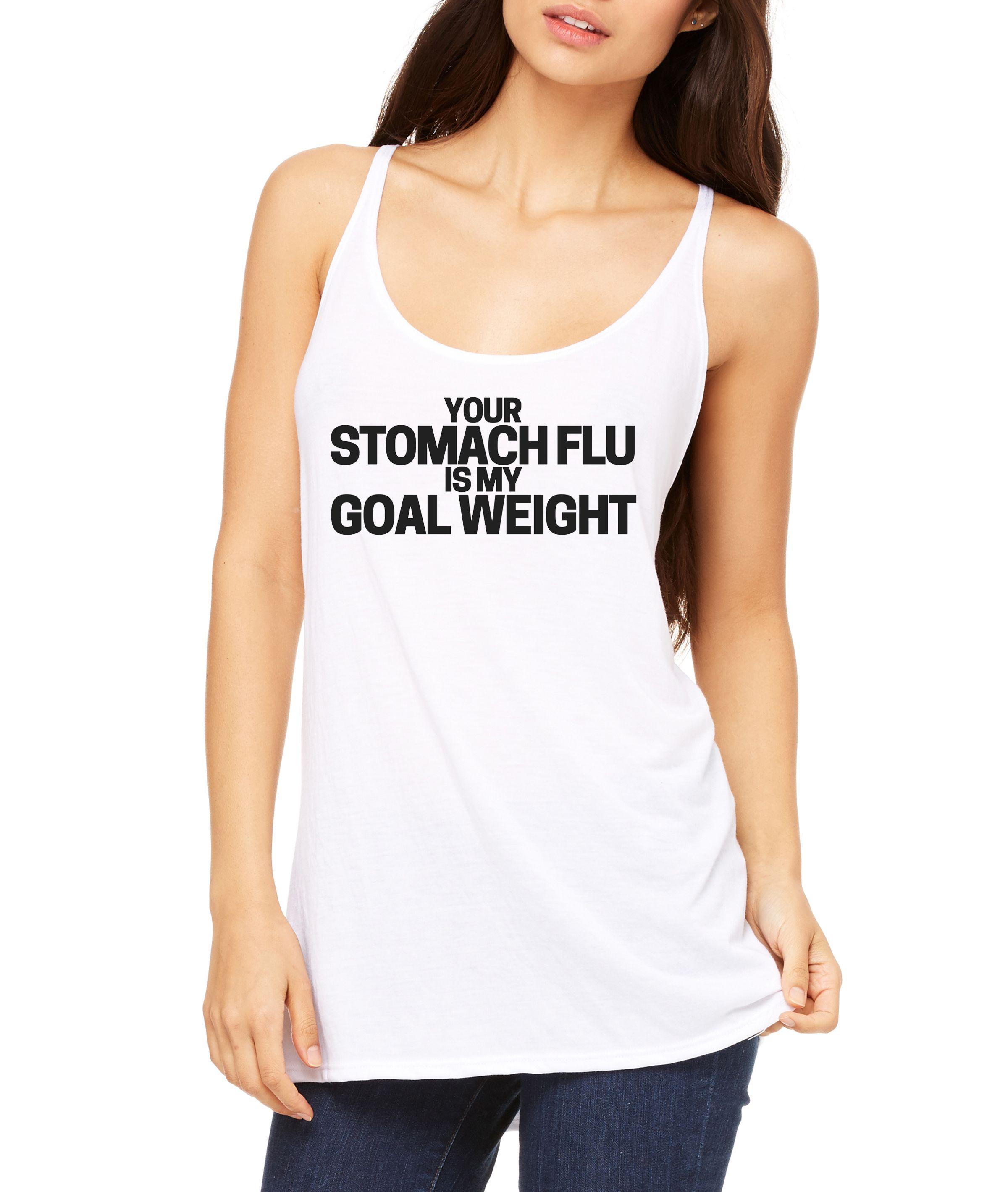 Stomach Flu Women's Slouchy Tank