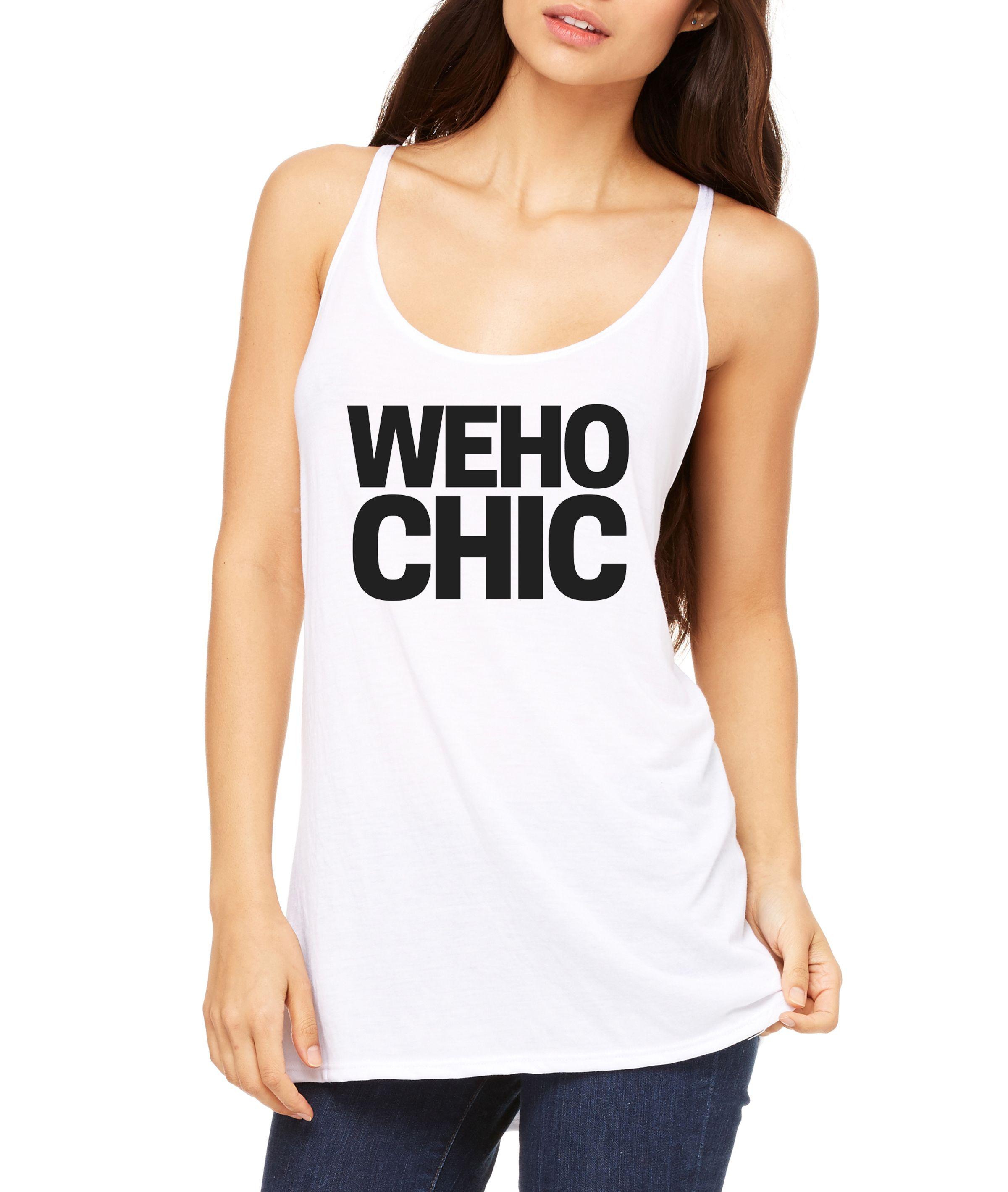 WeHo Chic Women's Slouchy Tank