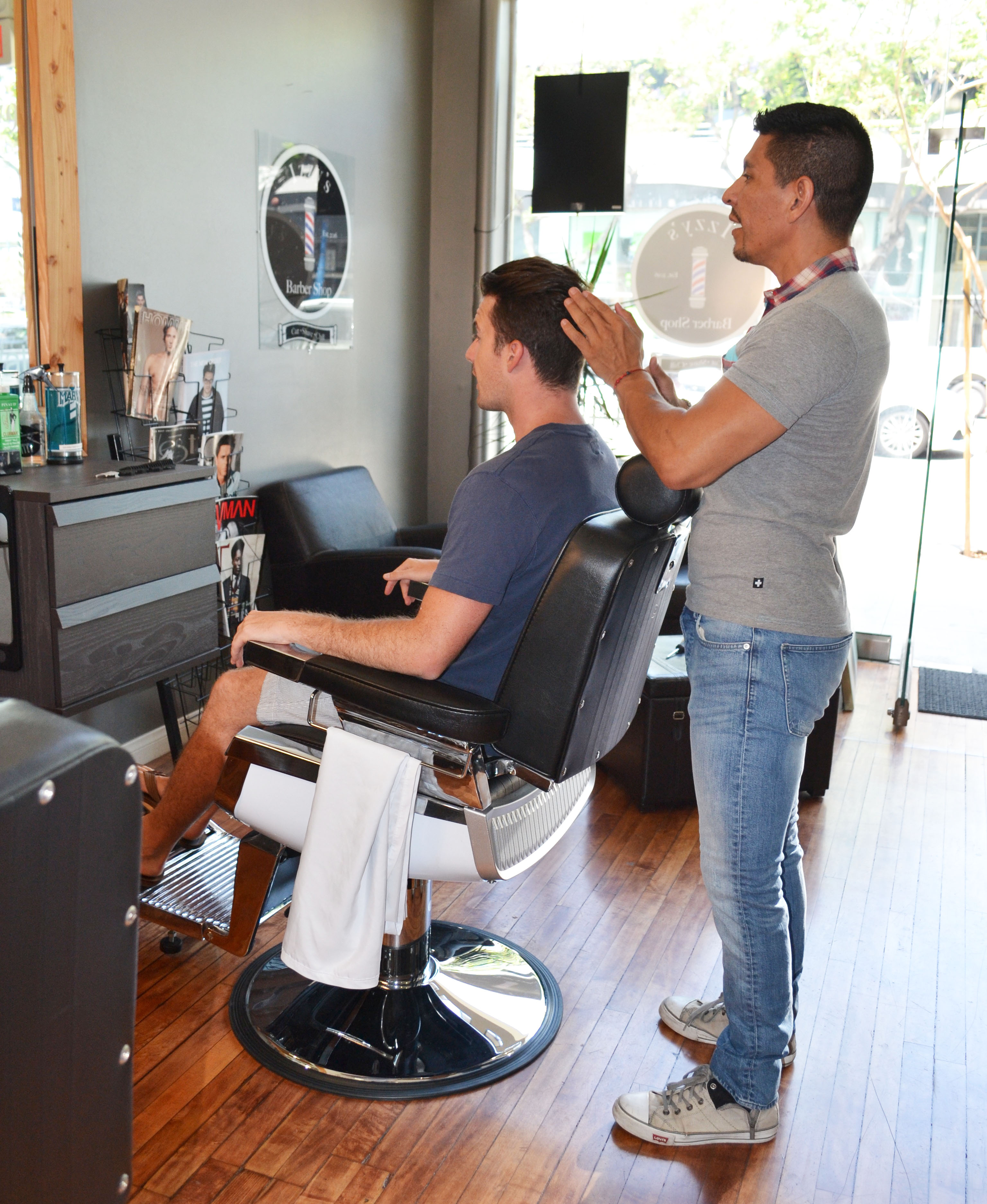 Hamptons to Hollywood - Izzy's Barbershop WeHo