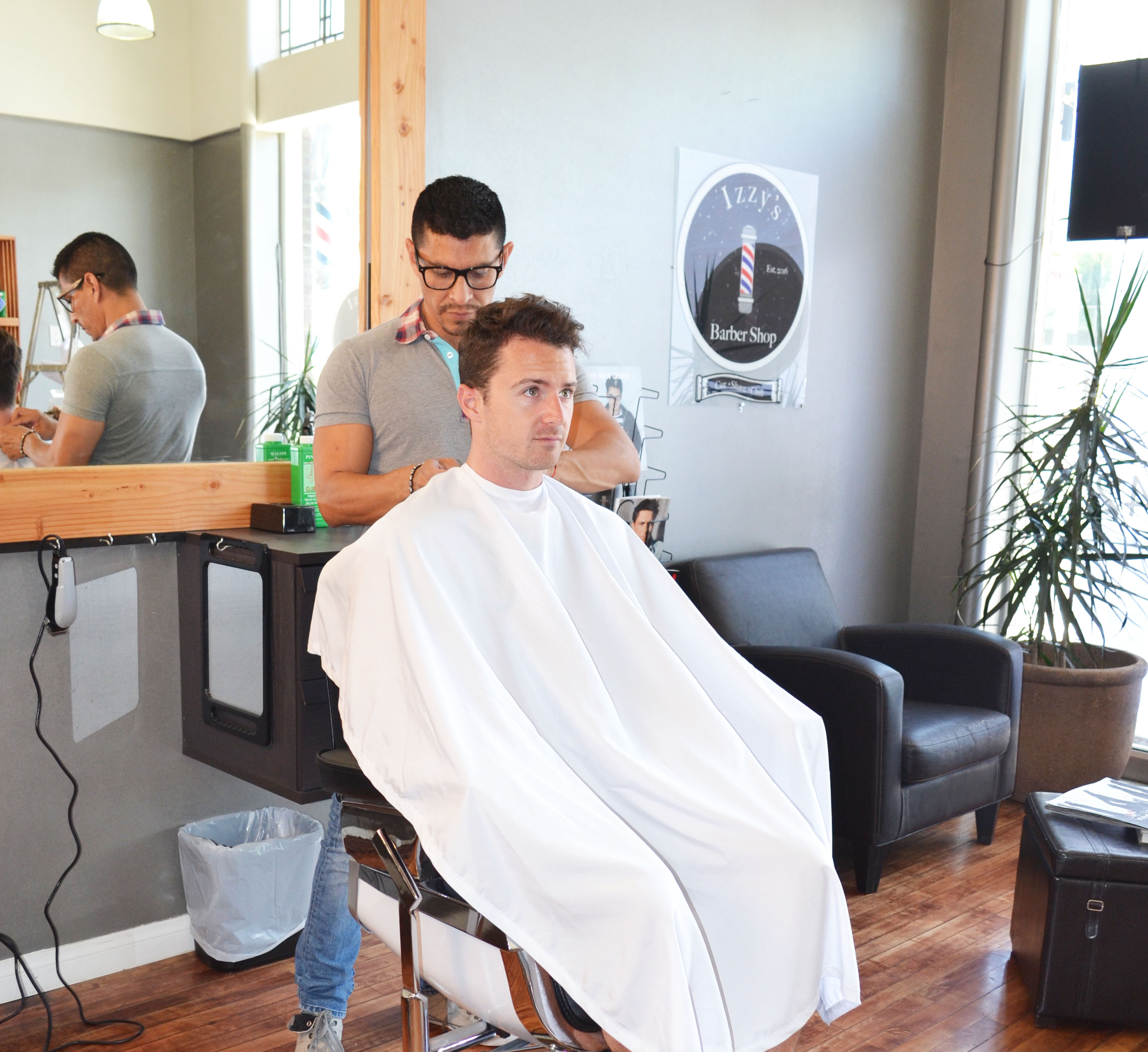 Hamptons to Hollywood - Izzy's Barbershop WeHo