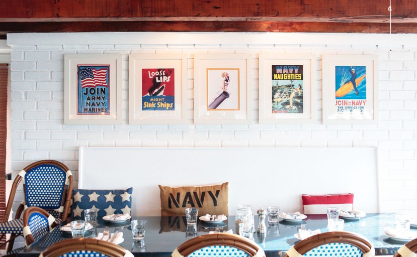 Hamptons to Hollywood - Navy Beach