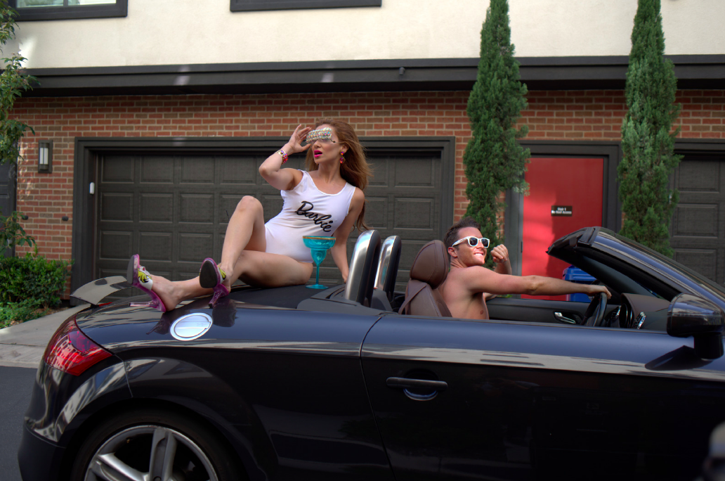 Kyle Langan Jewel Negin Hamptons to Hollywood Barbie and Ken