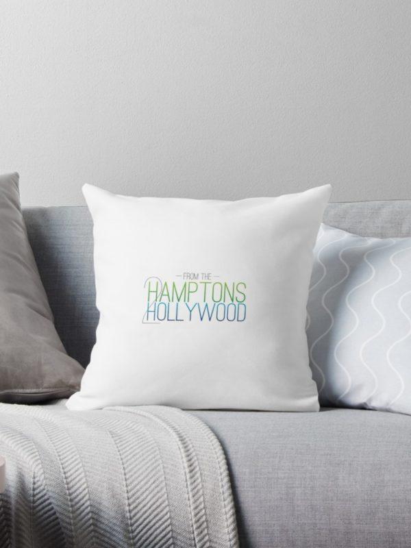 Hamptons to Hollywood Throw Pillow