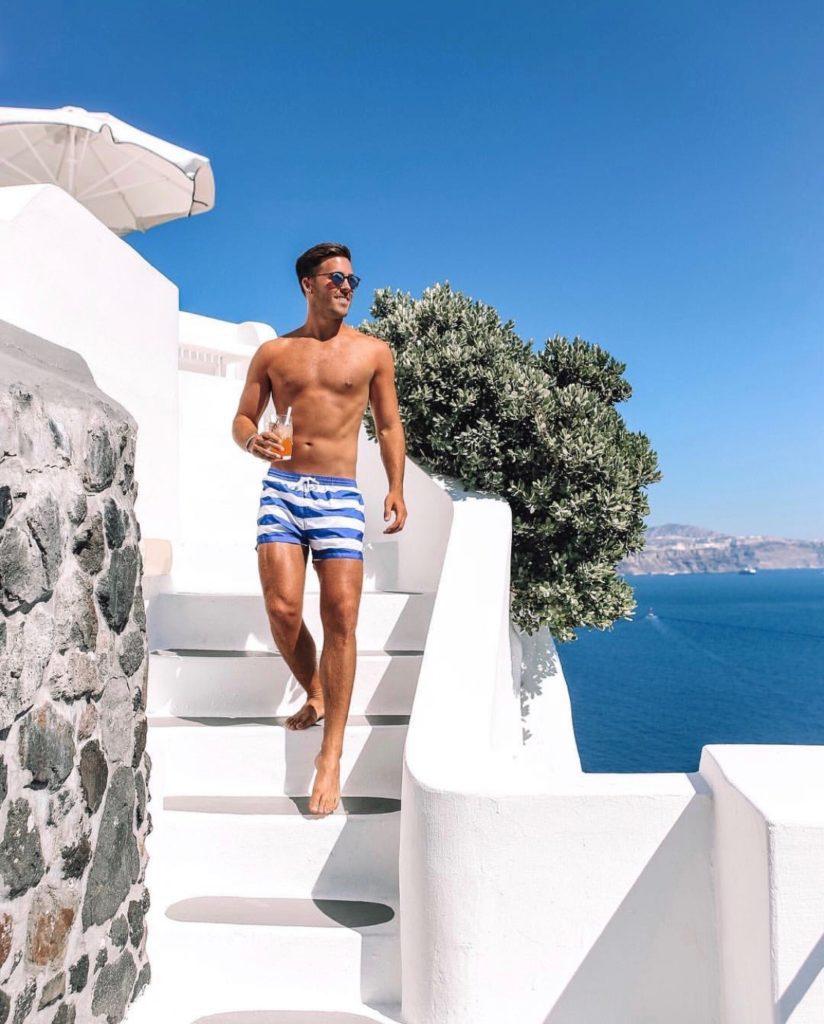 John Philp, Santorini