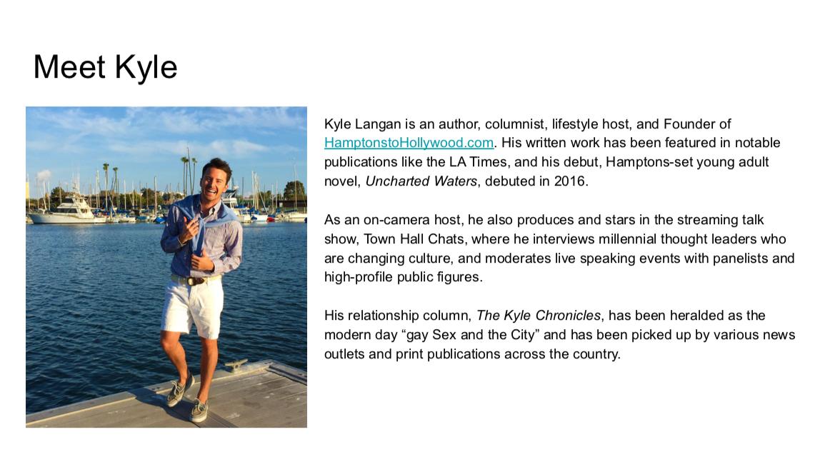 Hamptons to Hollywood Media Kit