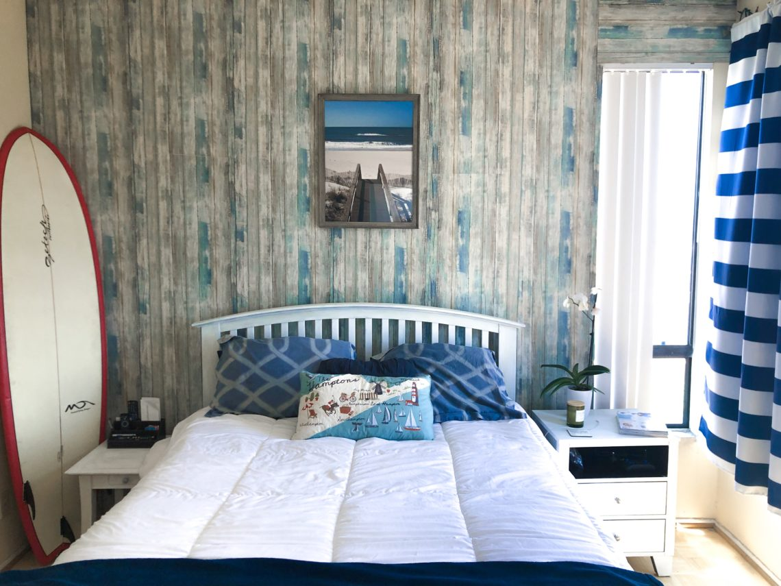 DIY: Hamptons Bedroom Makeover