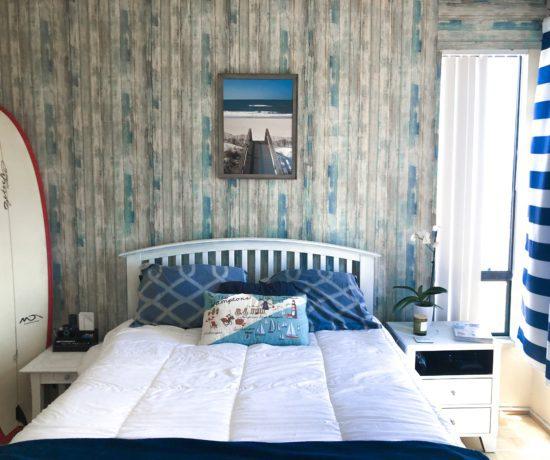 DIY: Hamptons Bedroom Makeover